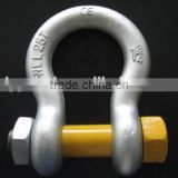 U.S. bolt type anchor shackle