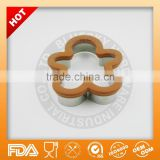stainless steel gingerbread man cookie cutter with silicone                                                                         Quality Choice