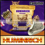 Huminrich 99% Dust Free OEM Bulk Bentonite Clumping Clay Cat Litter China Supplier
