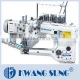 KS-62G-01D/02D Four Needles Six Threads Feed Off-The-Arm Interlock Knitting Sewing Machine