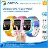 Anti Lost SOS Real-time GPS Tracker Watch For Kids SOS GSM Smart Phone App IOS & Android