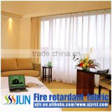 Modern blinds flame retarded curtain for hotel 2015 XJC 2006