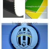 Xionglin soccer ball making materials thermoplastic Polyurethane TPU film with EVA and cloth