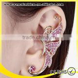 instock butterfly design cheap no piercing animal ear cuff