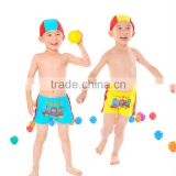 2015 fashion cute boy summer kids swimming suit lovely boy swimming set
