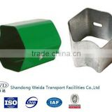 Guardrail block for road barrier used