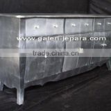 Silver Leaf Console - Sideboard - Buffet - TV Stand Cabinet - Living Room Furniture Indonesia