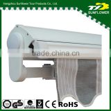 Half Cassette Remote Control Retractable Awning