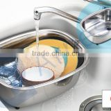 kitchenware tools dishwasher washing stainless steel japanese utensils sinks accessories bowles tub stopprt bucket 75435
