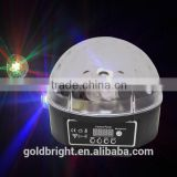 DJ disco light Mirror 6pcs*3W LED Crystal Ball, mini LED Crystal Ball for Christmas Decoration