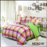 polyester bed sheet fitted sheet duvet cover set