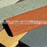 No facade curtain wall profiles ,splite tiles