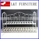 hot sale simple style metal outdoor or livingroom day bed