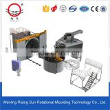 3.5m carousel arm rotomolding machine with temperature controller in china wenling