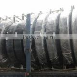 TPU Layflat hose for water discharge in oil industry 10'' 12'' diameter