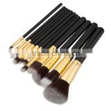 Wood 12Pcs Blending Makeup Brush Kit Professional Cosmetic Set Make up Brushes Tools