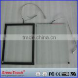 High transparency saw touch panel,21.5'' saw touch screen kiosk,dust-proof usb touch screen