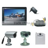 Security monitor with camera kit