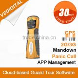 RFID GPRS GPS Security Guard Patrol Recorder with Personal Protection and Voice Communication