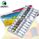 Maries 12ml 12colors artist acrylic color paint set