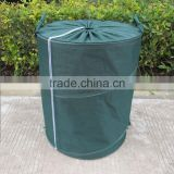 Pop up waste leaf garden bag Tool Bucket UV resistant easily collapsible both indoors and outdoors