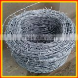 2014 hot sale hot dipped galvanized barbed wire for fence spike and barbed wire brackets