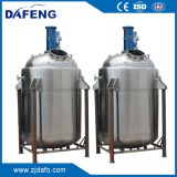 agitator stainless steel chemical jacketed reactor tank