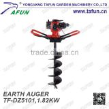 52cc drilling machine earth digging machine mini diggers