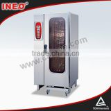 20 Trays Combi Steam Industrial Oven For Cakes/Meat Oven/Roller Oven