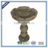 Landscaping flower shape Birdbath, Bird feeder
