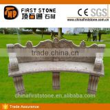 MCF2011 Antique Stone Benches For Public Park
