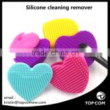 silicone cleaning tool for makeup brush and remove