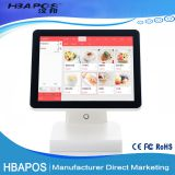 HBA-Q2 Programmable Android touch screen dual core POS system terminal for supermarket