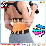 Best sell Amazon neoprene medical orthopedic waist support back support slimming trimmer waist belt