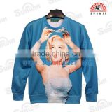 OEM authentic printed beauty hoodie, sweatshirt with personalized printing & embroidrery