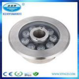 Stainless Steel Outdoor Water Fountain Waterproof LED Lights Submersible