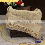 2017 New Arrival Chenille Fabric Door Mat Bath Rug