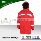 soft nice high quality Short delivery time single face adhesive used safety garments black antistatic coat