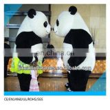 New Arrival Plush Inflatable Panda Mascot costume Customized 3meter height panda Mascot Costume
