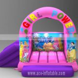 Amazing Inflatable pinky and purple princess combo