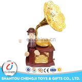 Children game cartoon toy plastic battery music boxes for sale