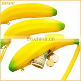 Novelty Silicone Portable Banana lady wallet wallet men wallet women
