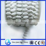 Plastic bead color green white cotton horse eye connectivity attachment bead bead solid color plating