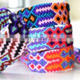 Friendship Bracelets Wholesale 10 Wide Nylon Unisex Hippy Boho Wristband Woven