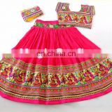Rabari banjara PINK Chaniya Choli- Ethnic rabari Work Chaniya Choli-Navratri Garba Chaniya Choli-
