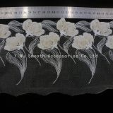 Fashion Garment Accessory Yarn Embroidery Lace Fabric Decoration Wedding Dress