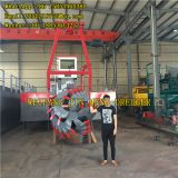 Non-self Propelled River Dredging Device 5000m3/h Water Flow Cutter Suction Dredger
