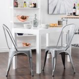 cheap vintage style Metal Dinning Restaurant tolix Chair