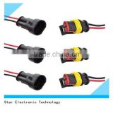 Most popular replacement tyco amp waterproof 2 pin electrical plastic male female wire connector