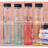 glass water bottle/nail polish glass bottle